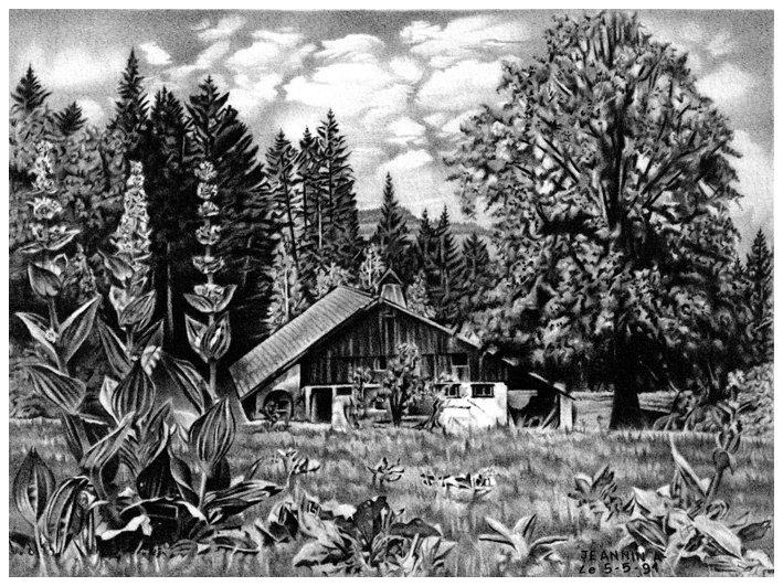 La petite maison dans la prairie. dans crayon la-petite-maison-dans-la-prairie-01