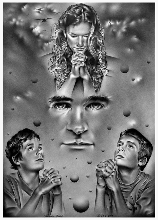 Au nom du père . (Audrey,Alexandre et Mathieu) dans crayon lla-priere-au-nom-du-pere-1
