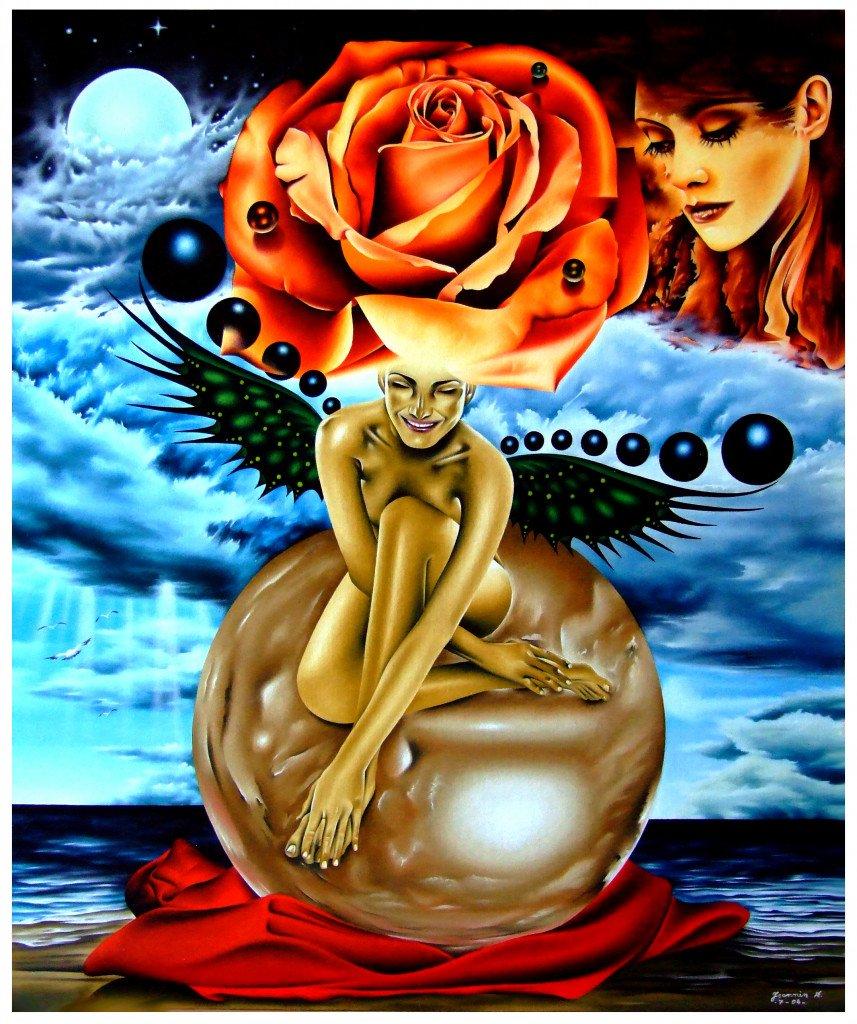 Rose feerique  1